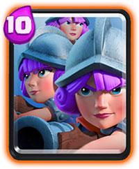 Три мушкетера в Clash Royale