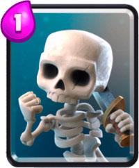 скелеты в Clash Royale