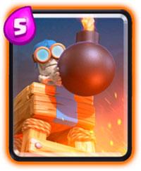 башня бомбешка clash royale прикроет тылы