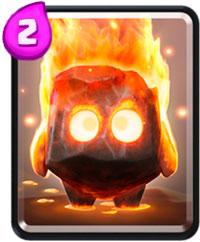 Огненные духи в Clash Royale милые и горячие