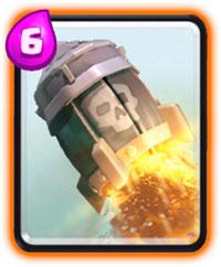 ракета clash royale хорошо разносит арбалеты