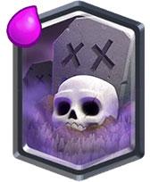 Кладбище Clash Royale высаживает скелетов
