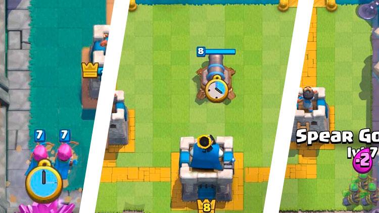 как сменить цвет ника в clash royale #9